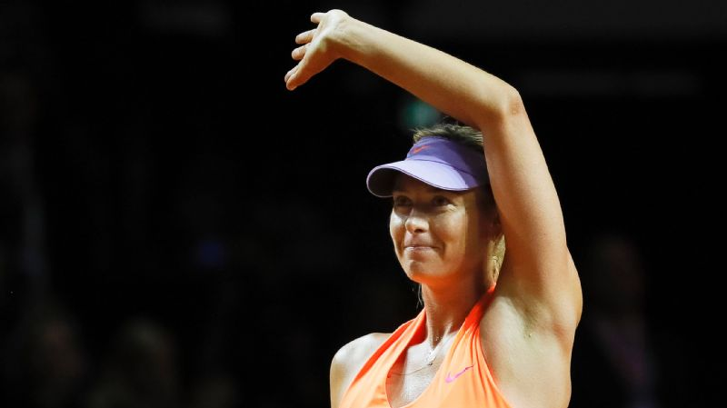 Maria Sharapova is on to the quarterfinals of the Porsche Grand Prix after defeating fellow Russian Ekaterina Makarova in straight sets on Thursday.