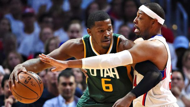 Jazz hold off Clippers to win series