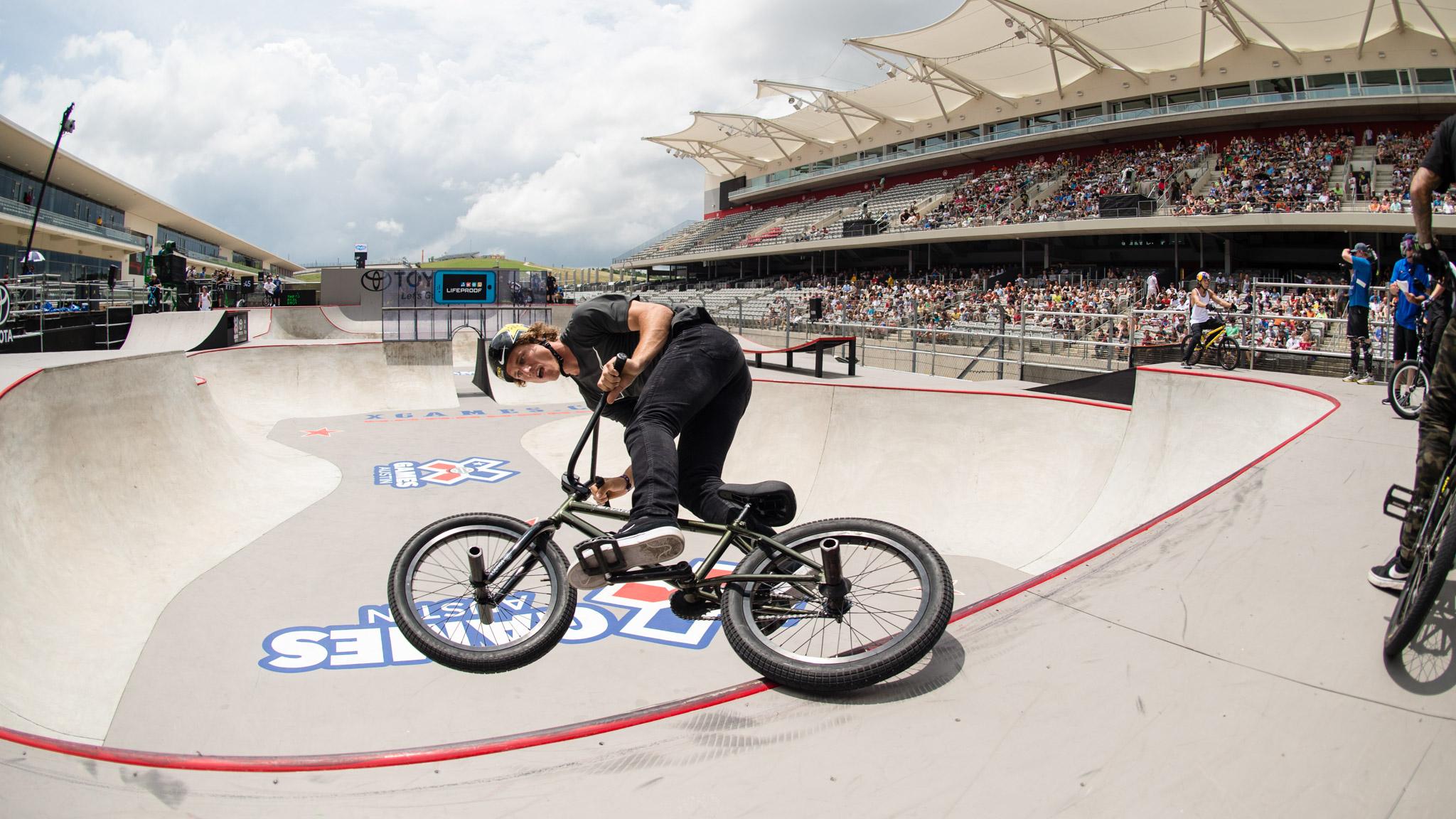 BMX Park: Dennis Enarson