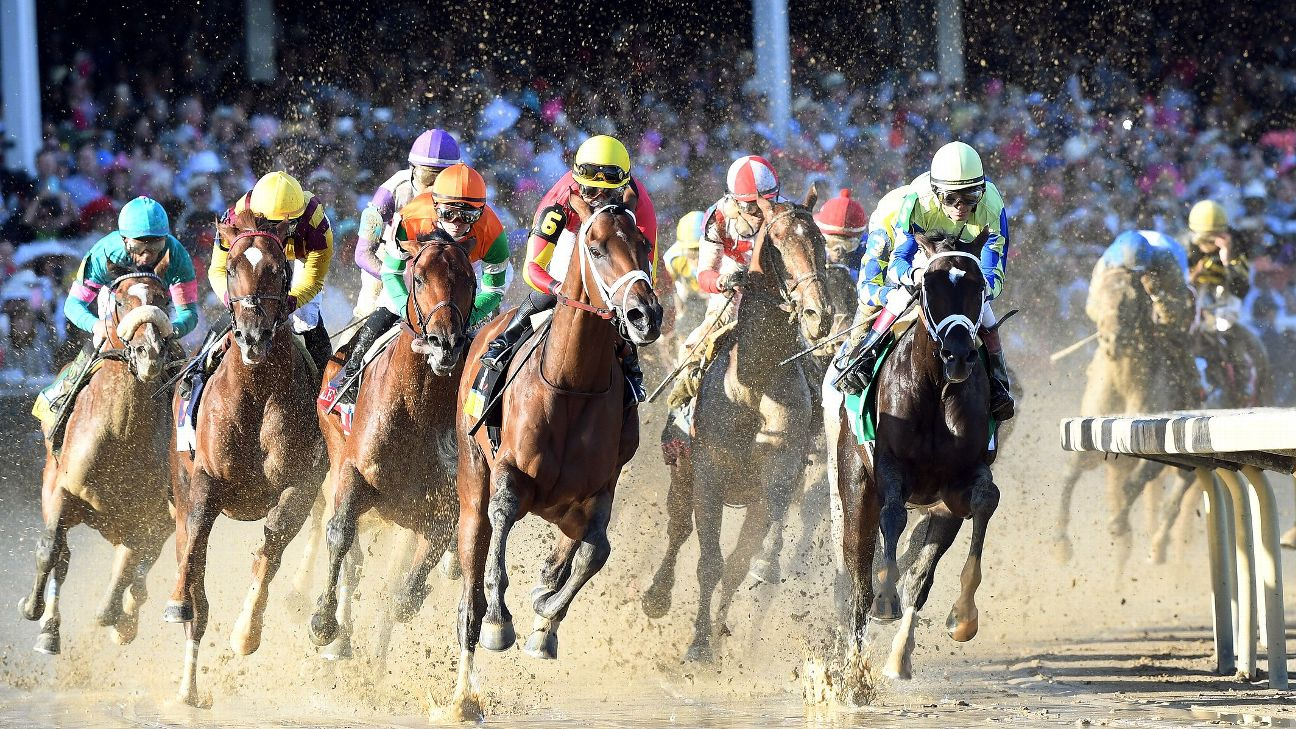 Always Dreaming's path to win the Kentucky Derby