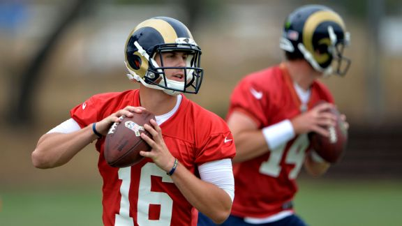 Jared Goff, Sean Mannion
