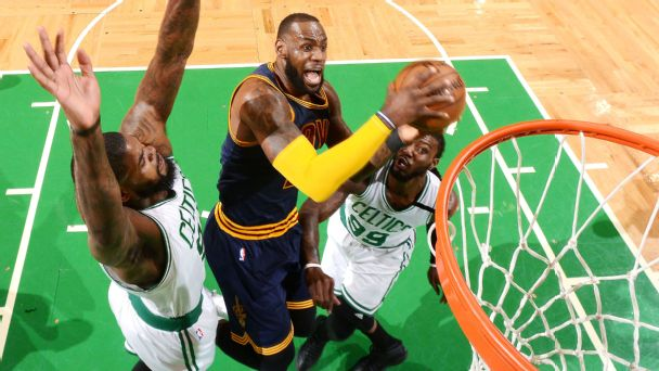 Cruise past Celtics in game one romp