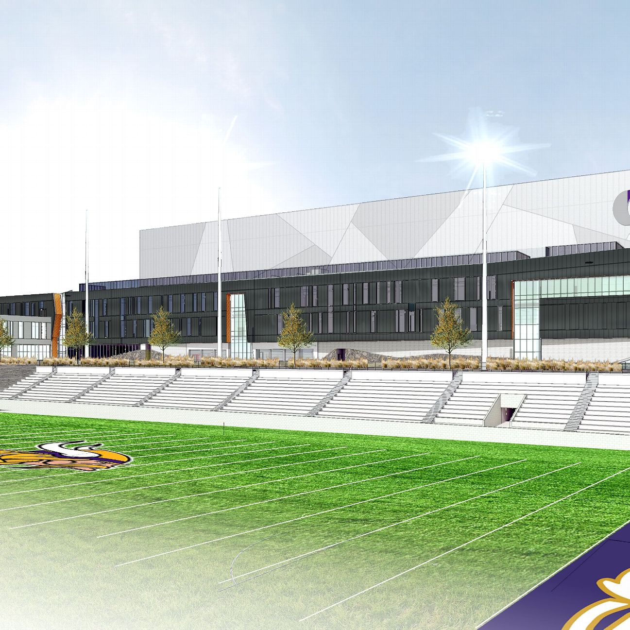 Minneapolis Garage Builders News Construction Blog: For New Headquarters, Vikings Building Their Version Of