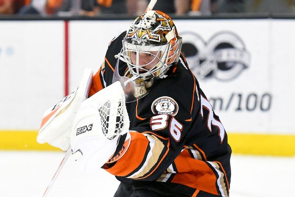 Ducks' John Gibson expects to be back in goal for Game 6