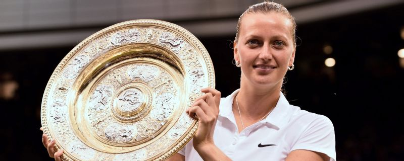 Petra Kvitova will be going in for a third Wimbledon title this year.
