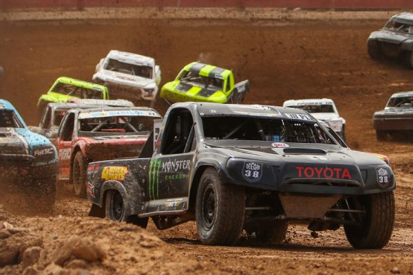 Brian Deegan said daughter Hailie's off-road racing experience should help her when it comes to control in a stock car.