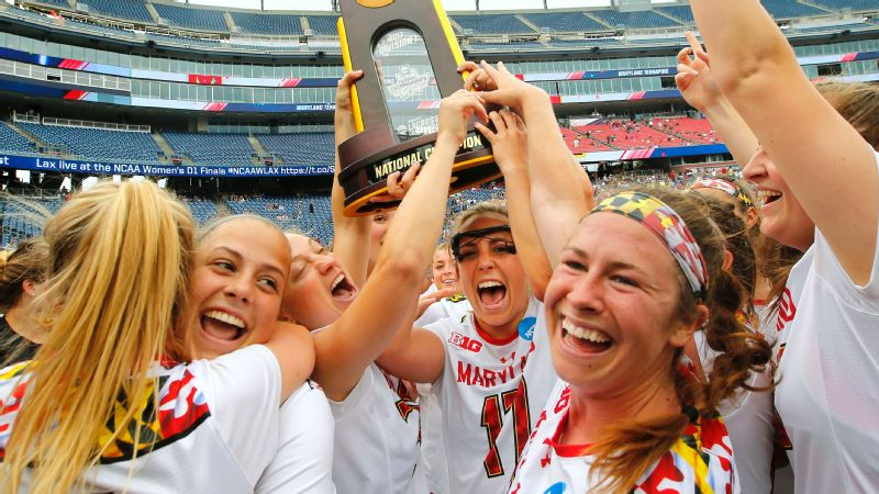A year after falling to North Carolina in the final, Maryland captured its 13th women's lacrosse championship.