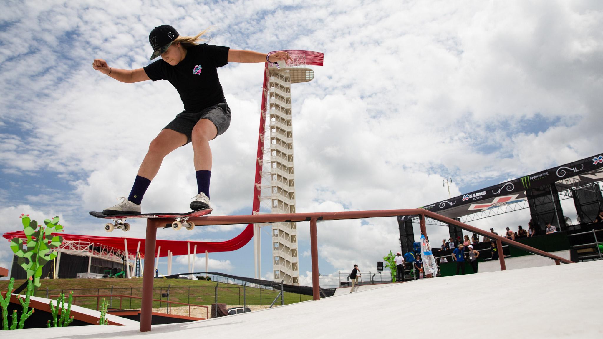 Skateboarding: Alana Smith