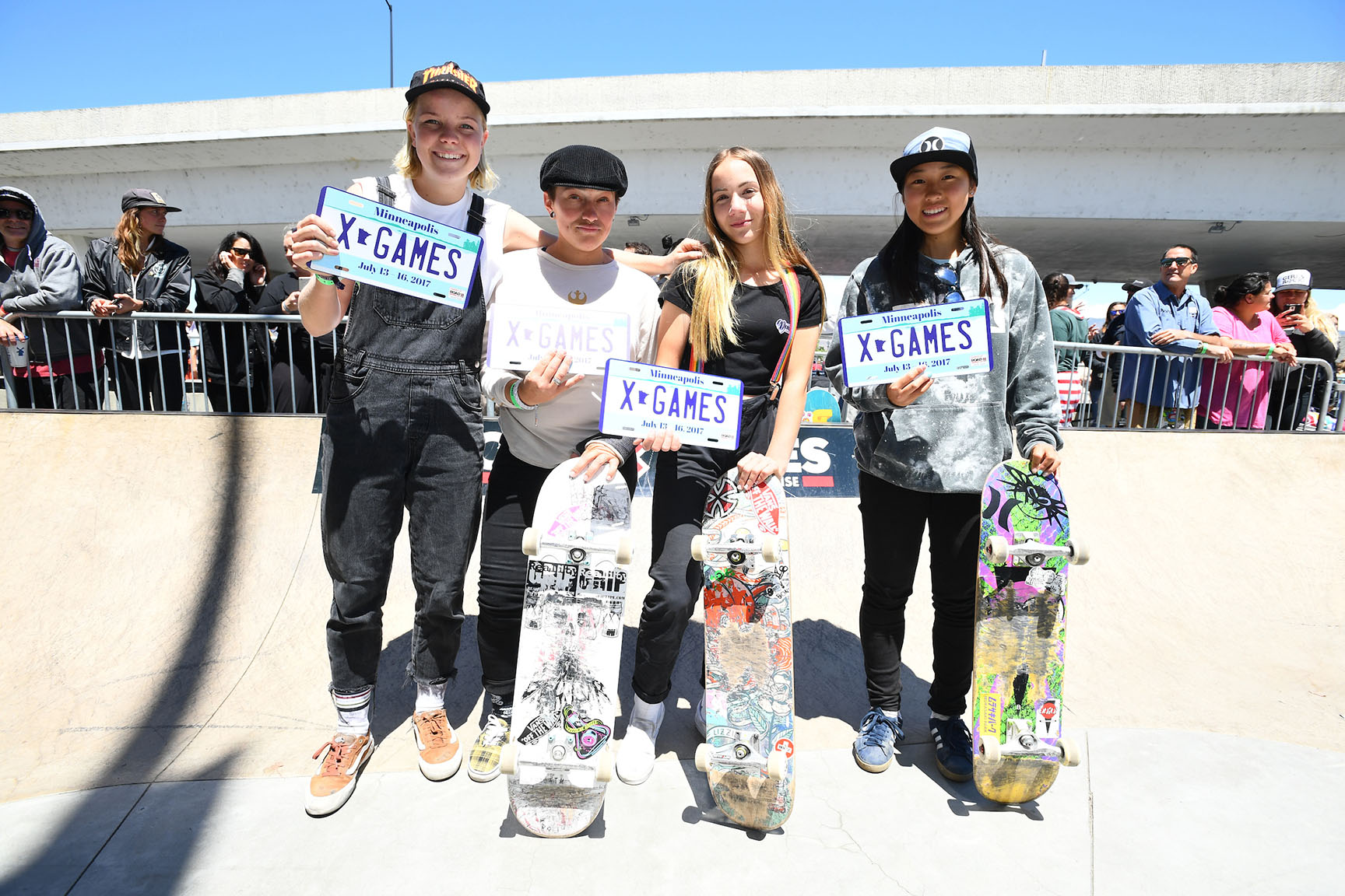 Women's Skateboard Park Qualifiers