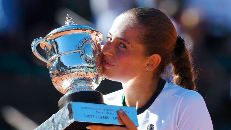 Ostapenko claims French Open title