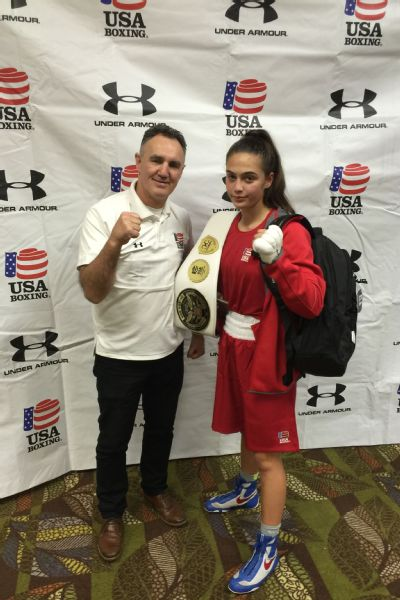 To make it this far, you have to be different. You have to be exceptional. You have to be a special person, says USA Boxing coach Billy Walsh, who trained Alexis Lavarine at the Olympic Training Center in April.