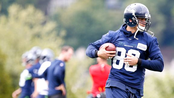 Seattle Seahawks tight end Jimmy Graham