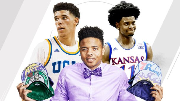Markelle Fultz, Lonzo Ball and Josh Jackson