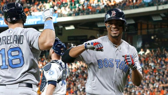 Xander Bogaerts #2 of the Boston Red Sox