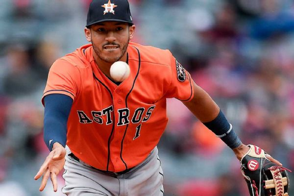 Springer, Astros keep streaking in 10-4 win over Braves