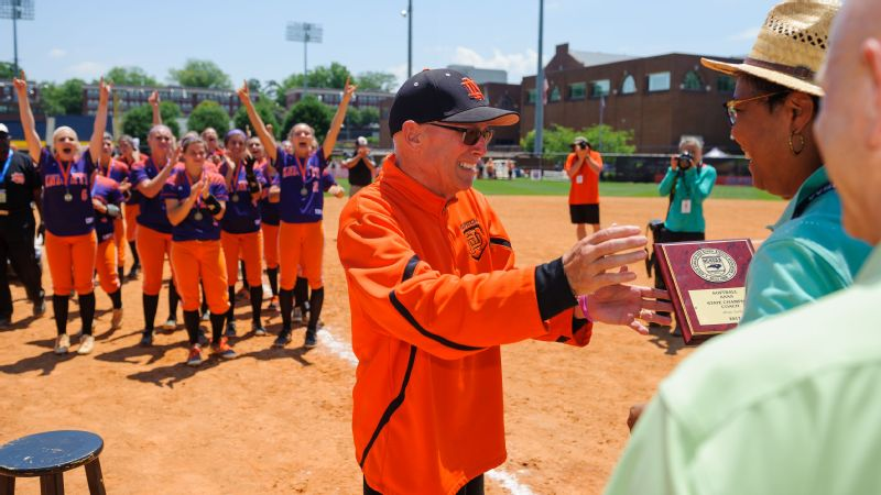 When he was diagnosed with Stage IV pancreatic cancer in August, Mike Lambros wasn't completely sure he would see Opening Day. In June, he coached North Davidson High School to the North Carolina state championship.