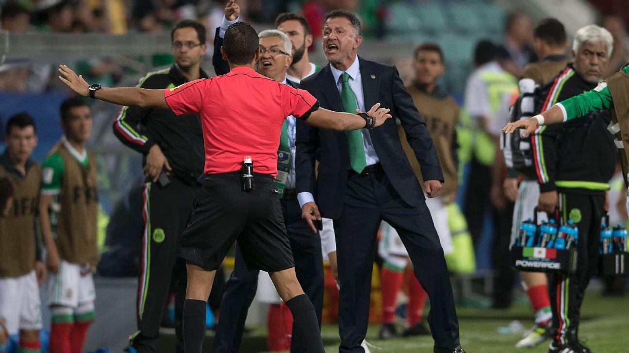 Osorio molesto contra Nueva Zelanda