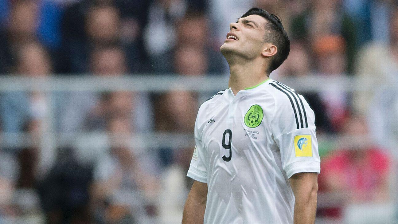 México, Copa Confederaciones, Raúl Jiménez