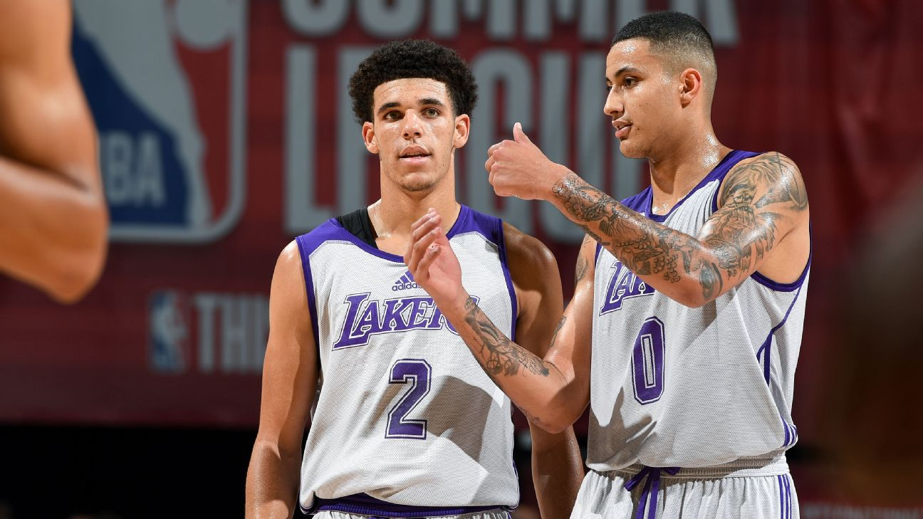 Lakers Ask Lonzo Ball, Kyle Kuzma To Reduce Roasting Of Each Other