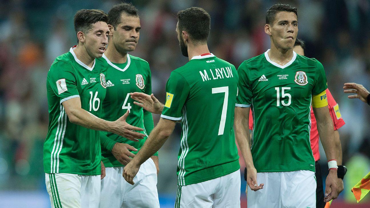 México vs. Alemania Rusia 2017