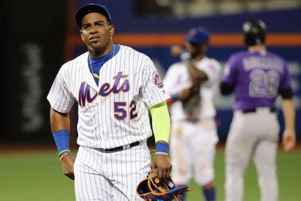 Aaron Boone Espn Stats >> Yoenis Cespedes Stats, News, Pictures, Bio, Videos - New York Mets - ESPN