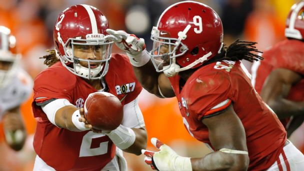 Follow live: Alabama strikes first