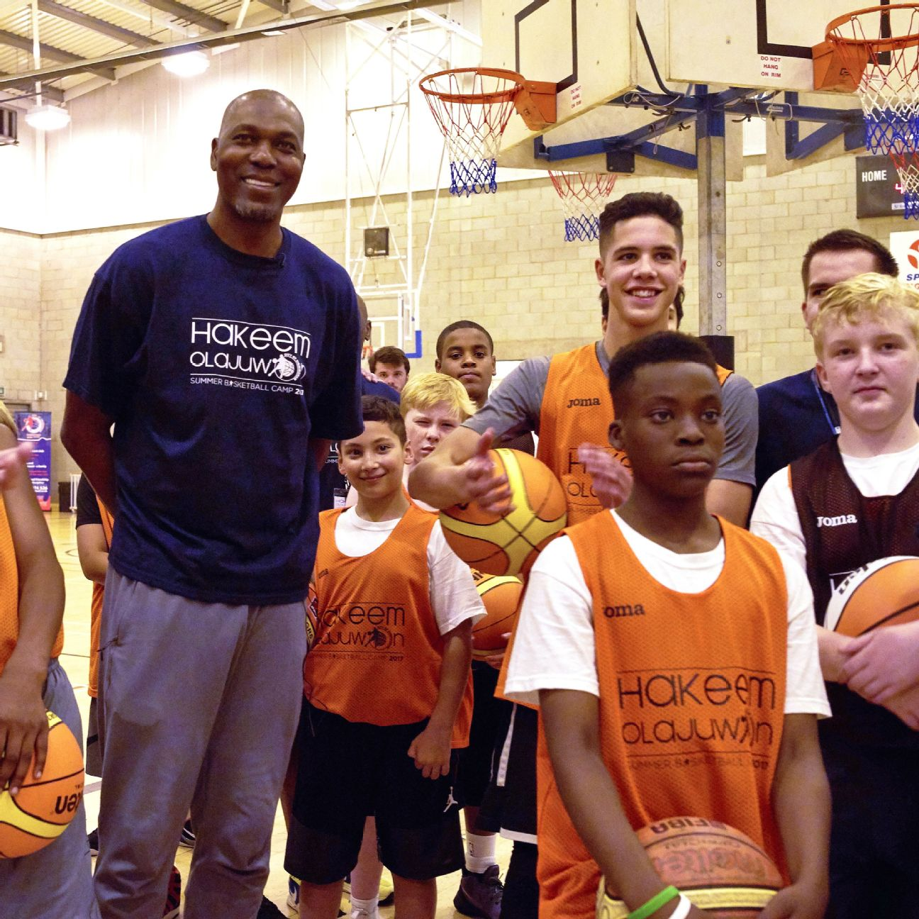 Houston Rockets Dream Shake: Hakeem Olajuwon's Basketball Camp Is A Dream Come True For