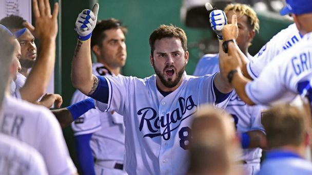 Mike Moustakas is about to break one of baseball's most meager home run records