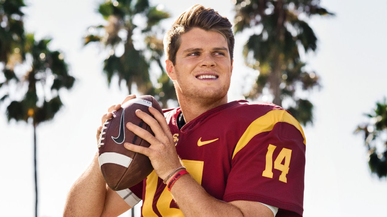 Usc Trojans Football >> USC Trojans look to Sam Darnold for first national title in 13 years