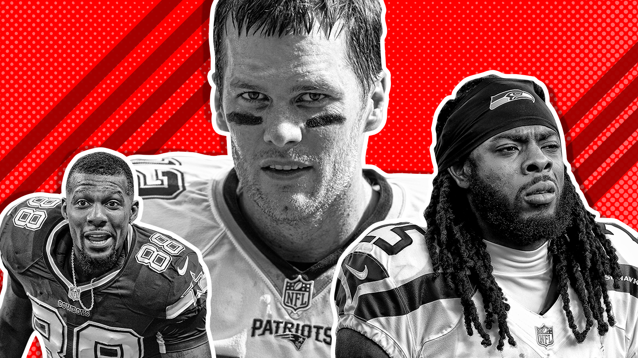 best dating nfl players by position of all time espn