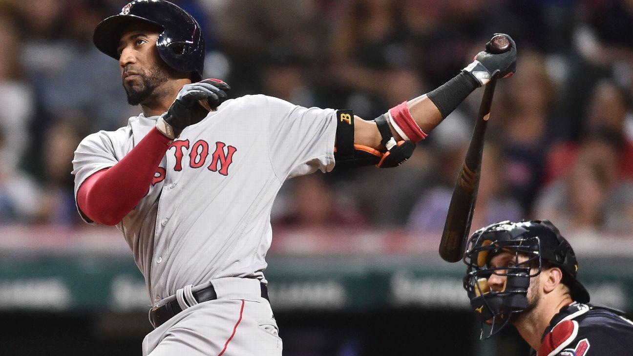 16 Red Sox Infielder Eduardo Nunez Aggravates Knee Injury Espn