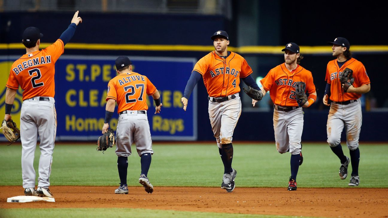 Houston Astros -- Tropicana Field homestand