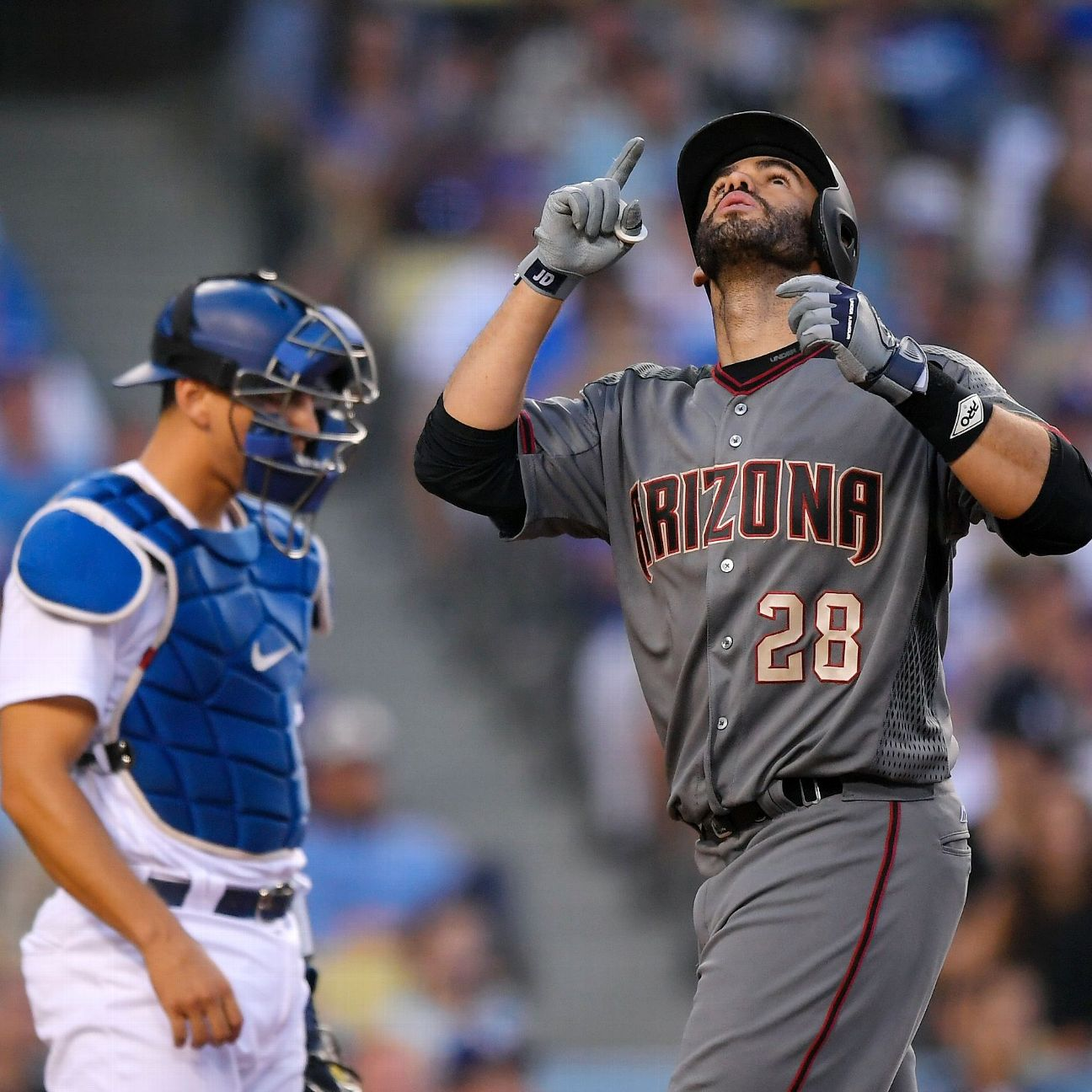 J.D. Martinez Mashes His Way To A Four-homer Game