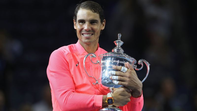 Rafael Nadal's victory at the US Open was his 16th major title.