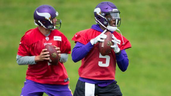 Sam Bradford, Teddy Bridgewater, Minnesota Vikings, 2017