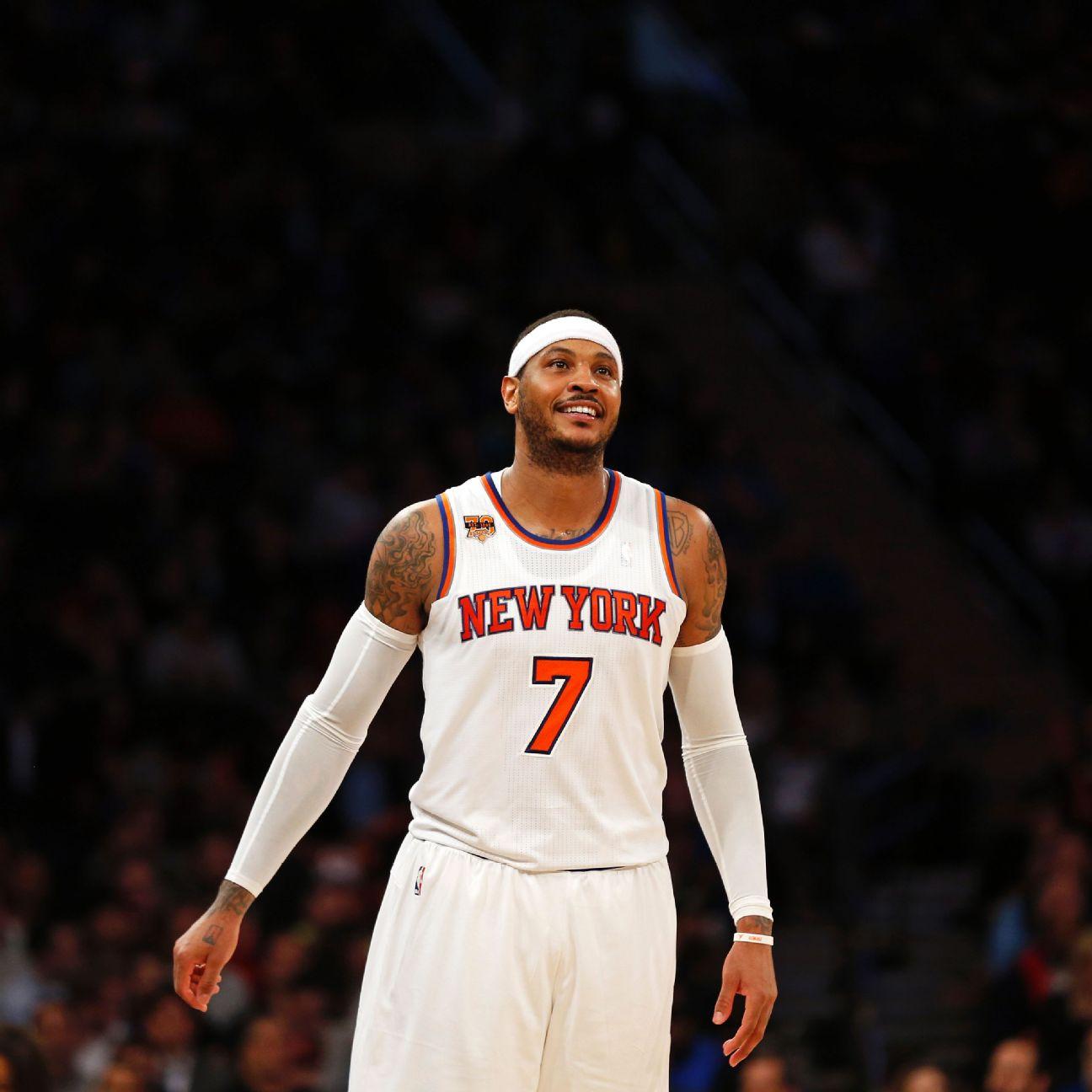 New York Knicks Make Carmelo Anthony Trade To Oklahoma