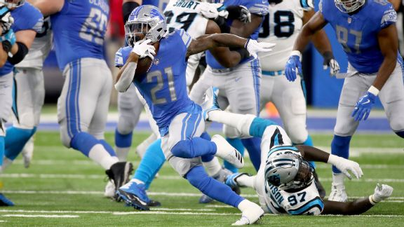 Lions vs. Panthers ( Ameer Abdullah )