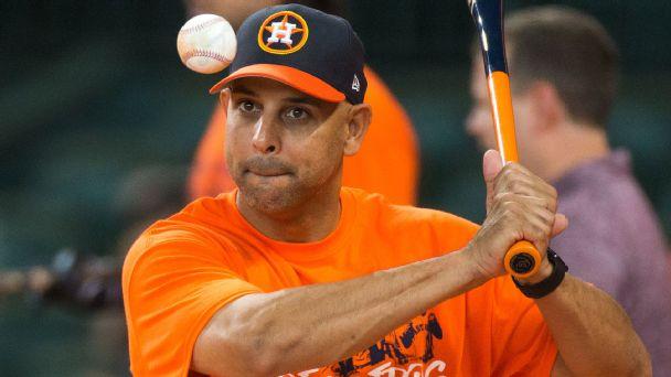 Alex Cora -- Houston Astros