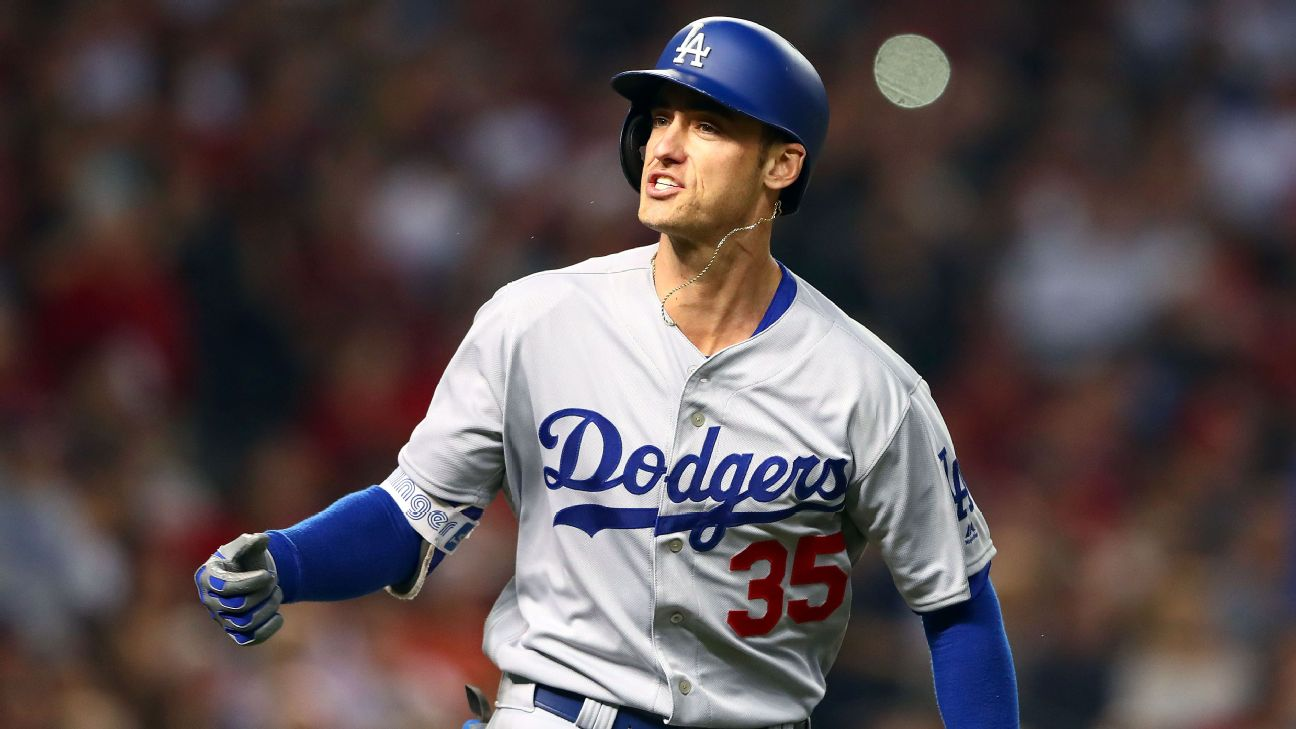 Cody Bellinger -- Los Angeles Dodgers
