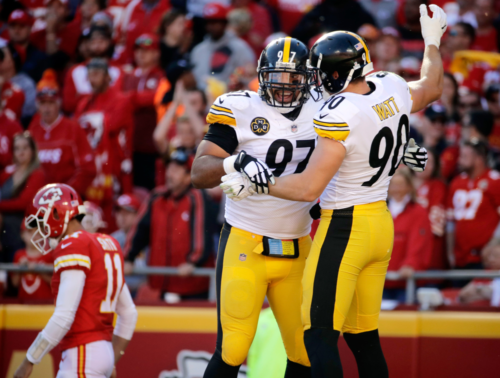 National Football League  fines Steelers' Mike Mitchell $48k for late hit on Alex Smith