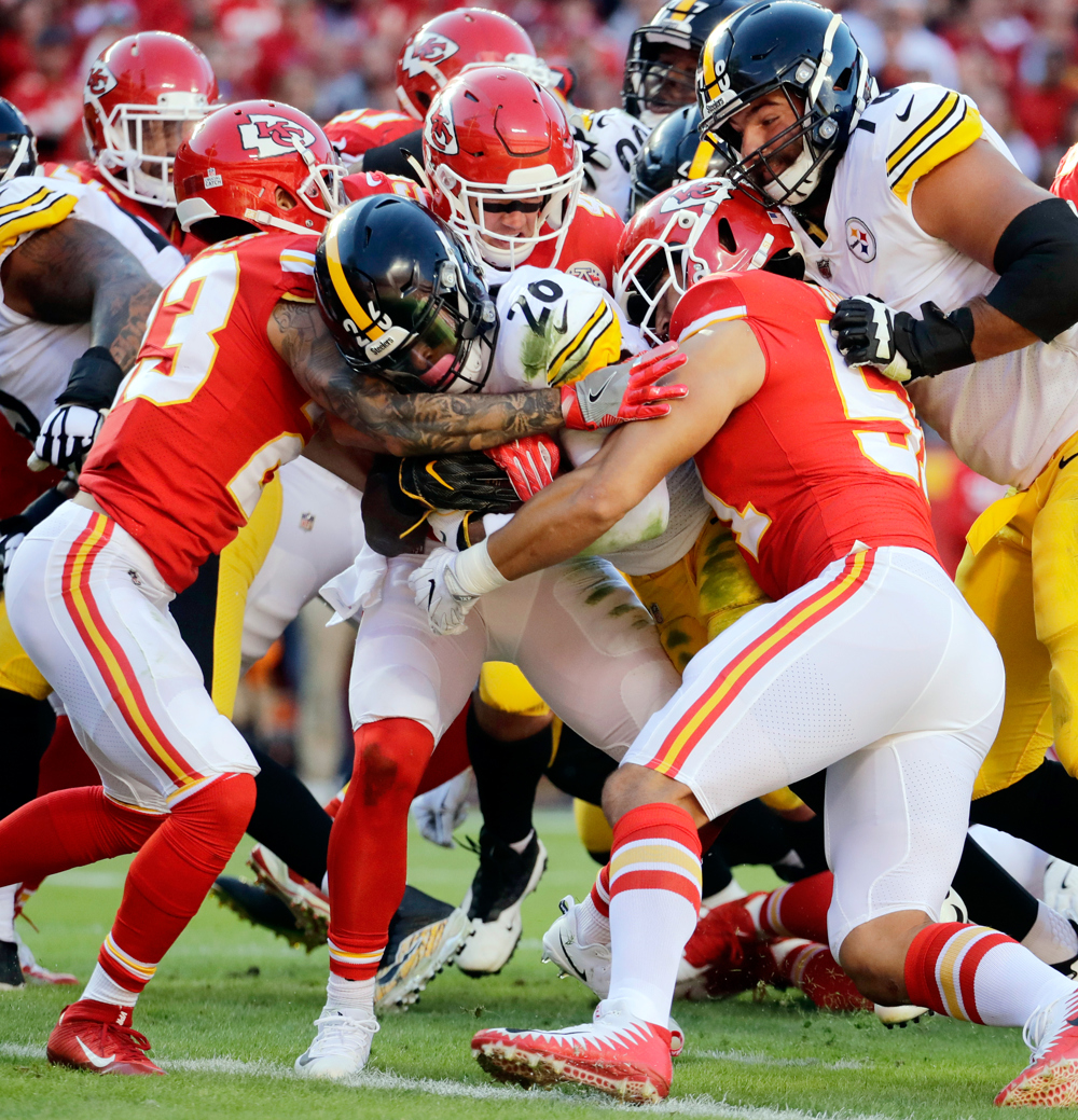 Alex Smith criticizes Mike Mitchell for late hit