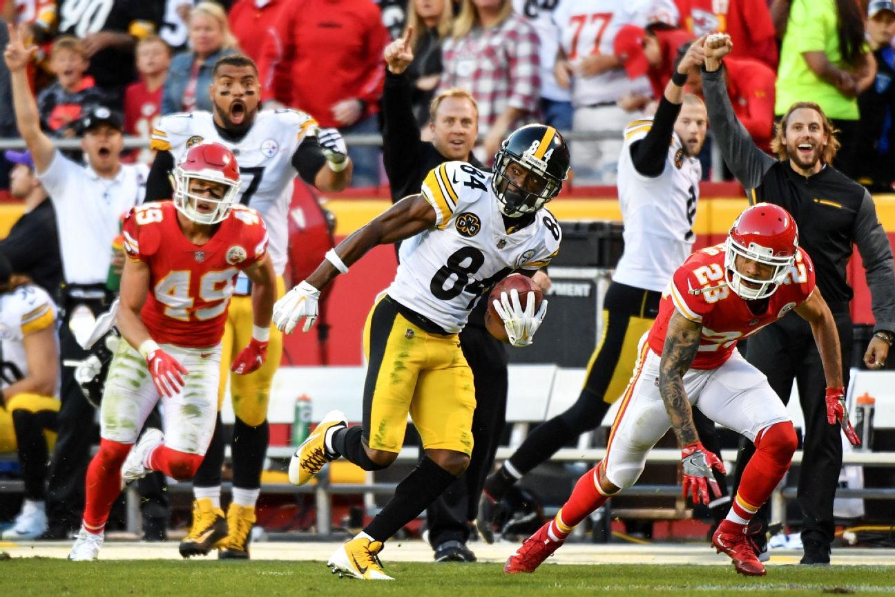Chiefs' Alex Smith lashed out at Steelers defender after late hit