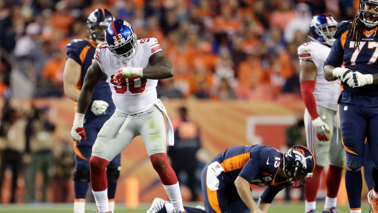 Jason Pierre Paul Stats News Videos Highlights Bio