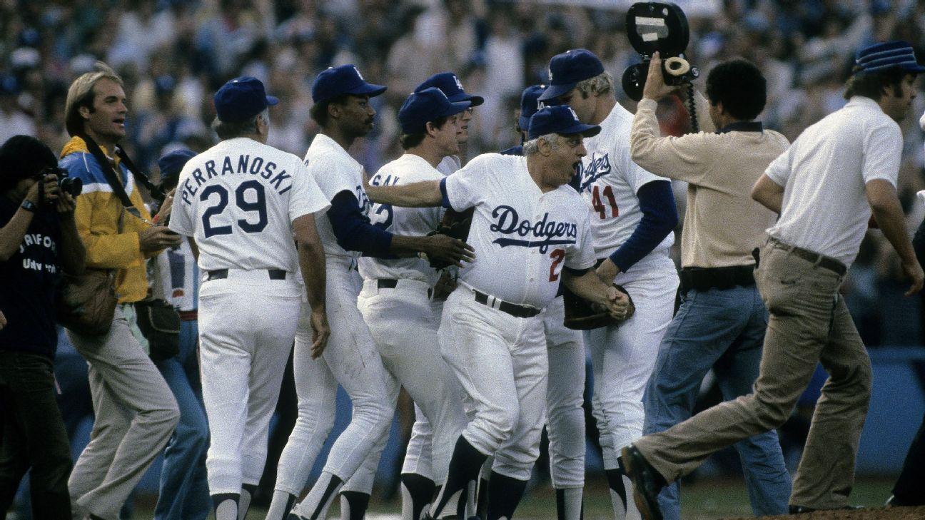 Astros Dodgers 1981