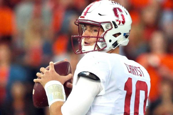 Ex-Stanford QB Chryst transferring to Tennessee