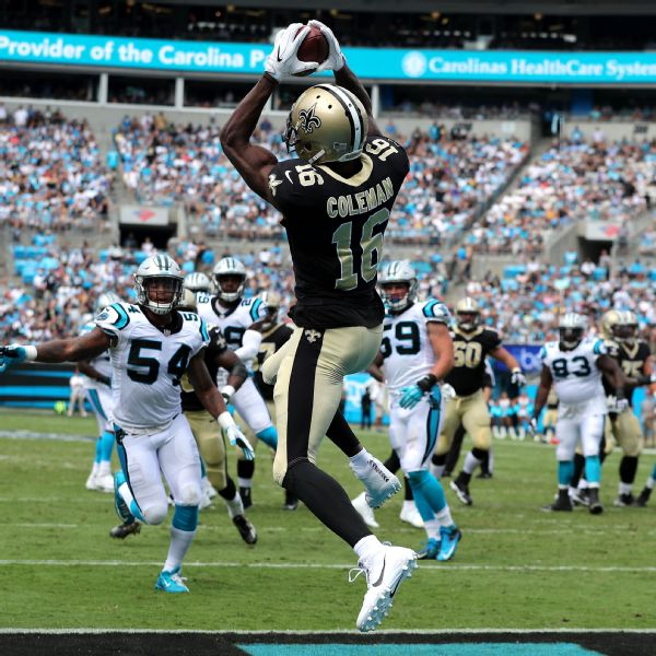 Brandon Coleman Saints 2015