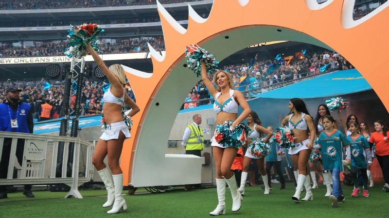 The Miami Dolphins made their fourth visit to London this season but were shutout 20-0 by the New Orleans Saints.