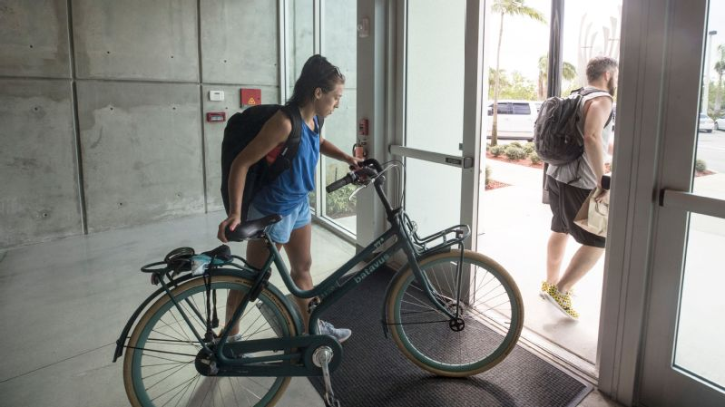 More often than not, Joanna Jedrzejczyk makes the four-mile trip between the gym and her home on her bicycle.