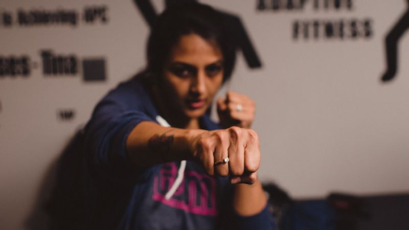 Megha Vora is fighting back against violence toward women in India.