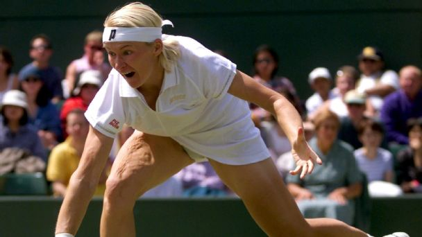 Jana Novotna largely will be remembered as a player who fought back from a devastating loss at Wimbledon to someone who triumphed on the grass five years later.